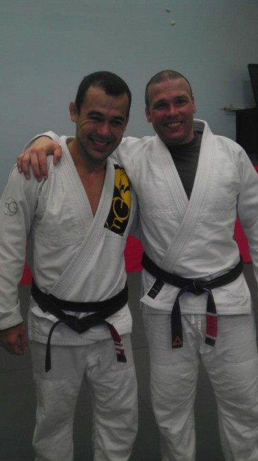 Brandon also trained with Marcelo Garcia