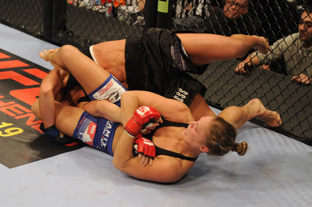 Learn Ronda Rousey's Super Effective Armbar