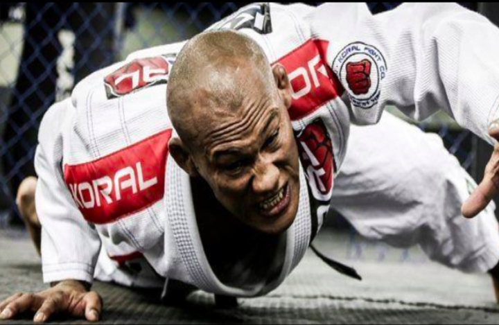 Jacare Reveals Reason For Leaving BJJ For MMA