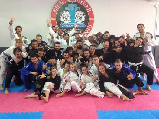 Paros Island, Greece Jiu-Jitsu Camp II (Sept 2014) With Marcelo Alonso & Nick Unander