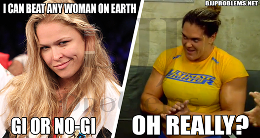 Rousey Answers Gabi Garcia: ' I've Got UFC & Movies. No Time For a Grappling Match'