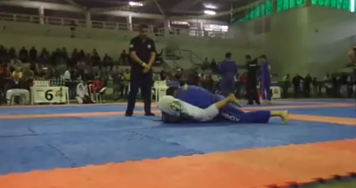 (Video) Paulo Miyao Gets His Impassable Guard Passed & Gets Submitted
