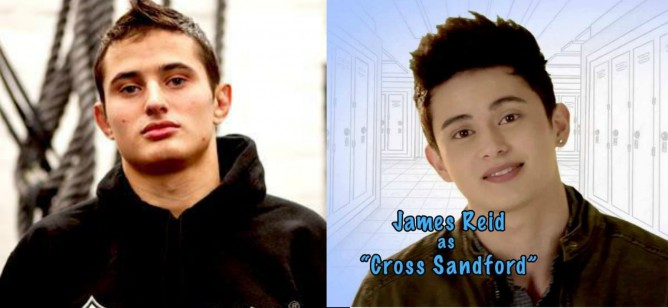 Caio Terra and James Reid