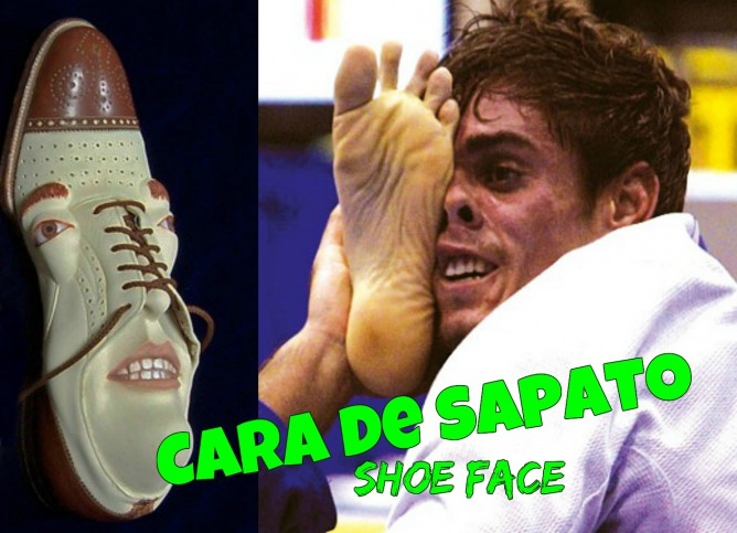 Shoe Face and Antonio 'Cara de Sapato' (Means shoe face in Portuguese)