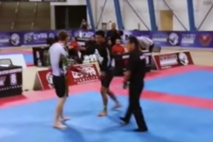 Competitor Ignores Handshake To Go For Takedown And Wins Gold- Fair or Poor Sportsmanship?