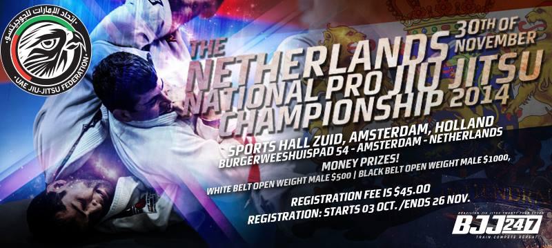 Netherlands National Pro Jiu-Jitsu Championship Complete Results