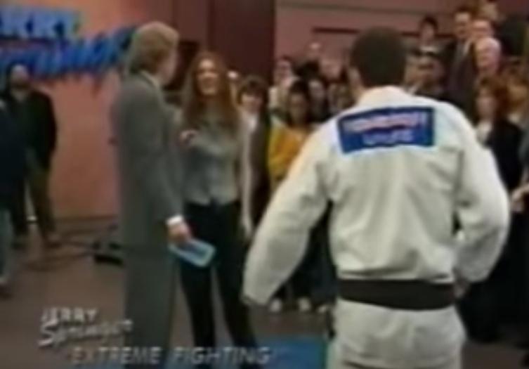 Flashback: Ralph 'Pitbull' Gracie on The Jerry Springer Show