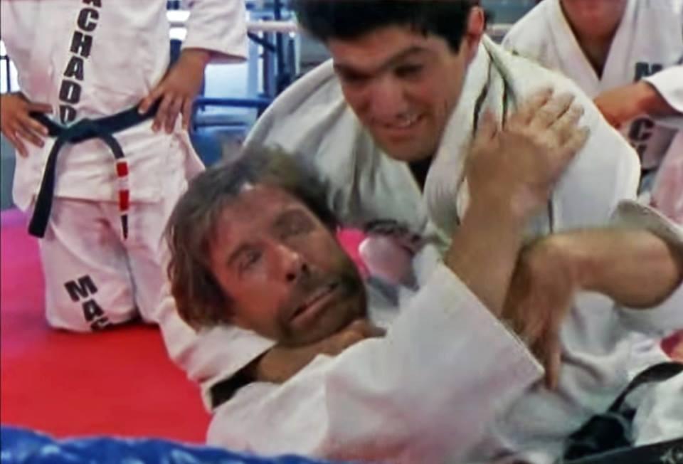 If You Train Brazilian Jiu-Jitsu Today It's Probably Because Of Chuck Norris