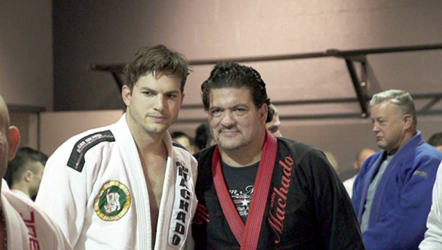 Rigan Machado on Ashton Kutcher's Real Level in BJJ. Compares His Body Type to Roger Gracie's
