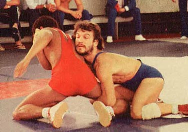 In the late 70's and 80's in Brazil, Rolles' father, Rolls Gracie, who was known as the first Gracie to cross train in other grappling arts such as judo, wrestling or sambo, competed regularly in these arts.