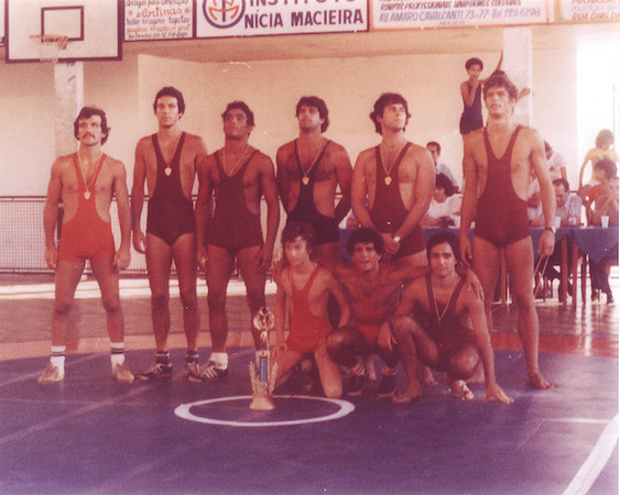 Gracie team at 1980 wrestling Pan American