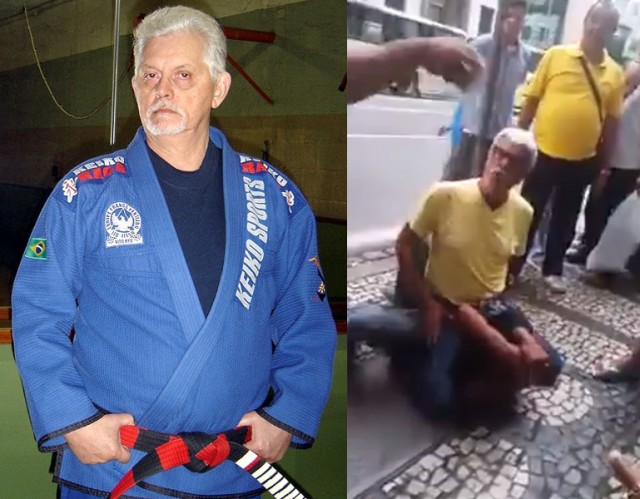 What happens when a Thug Tries to Rob a 72 year old Jiu-Jitsu Coral Belt!