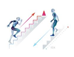 sprint stair bjj