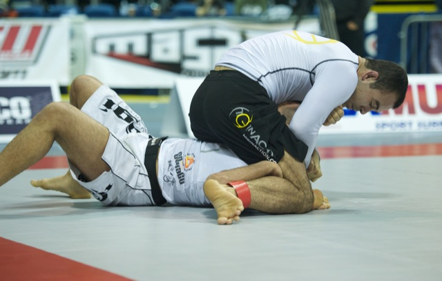 Marcelo Garcia is a multiple times Gi IBJJF world champion and a 4x ADCC No Gi champion