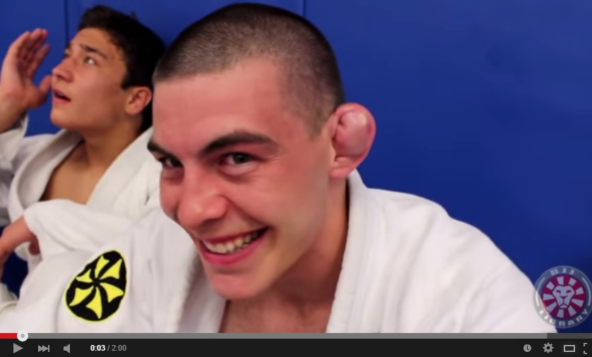 Watch Saulo Ribeiro Drain His Student's Huge Cauliflower Ear