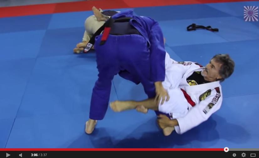 Watch 68 year old Red Belt Hilton Leao Rolling with Black Belts in UAE