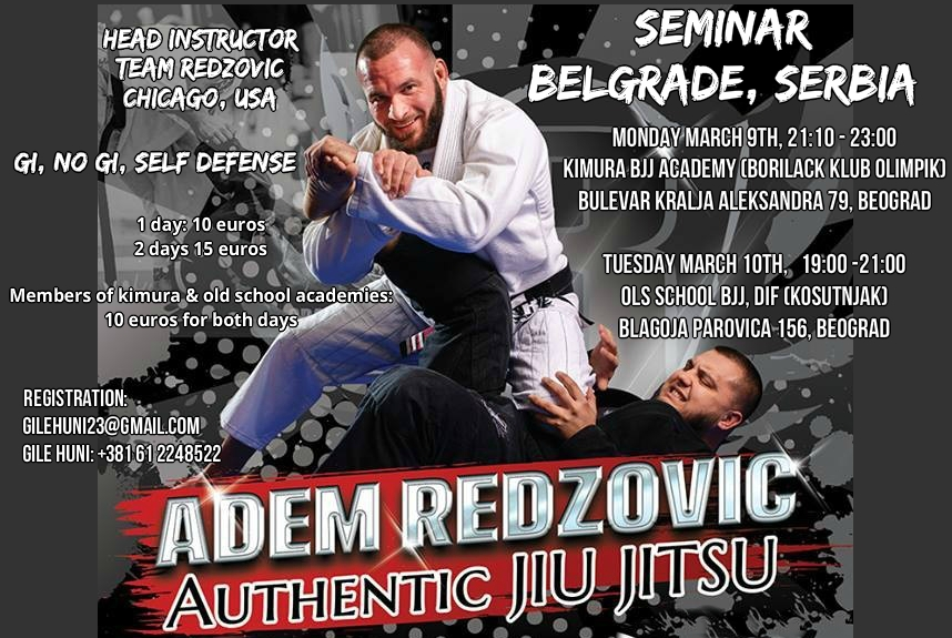 Adem Redzovic talks about his successful Chicago academies, his Bosnian roots and how religion helps him in Jiu-Jitsu