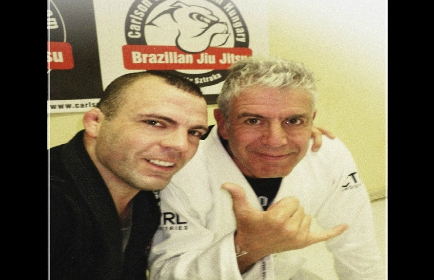 TV Chef Anthony Bourdain on How He lost 30lbs/14 kgs From Training Jiu-Jitsu