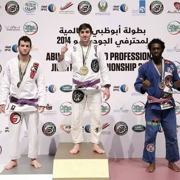 2014 first place at World Pro at purple belt