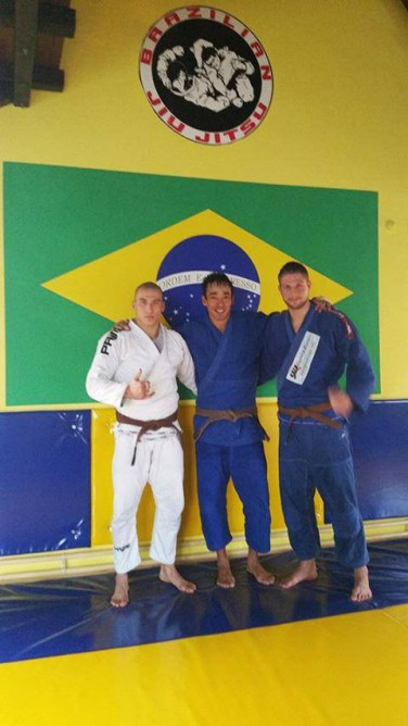 From L to R: Uros Domanovic, Andre Sato, Uros Culic