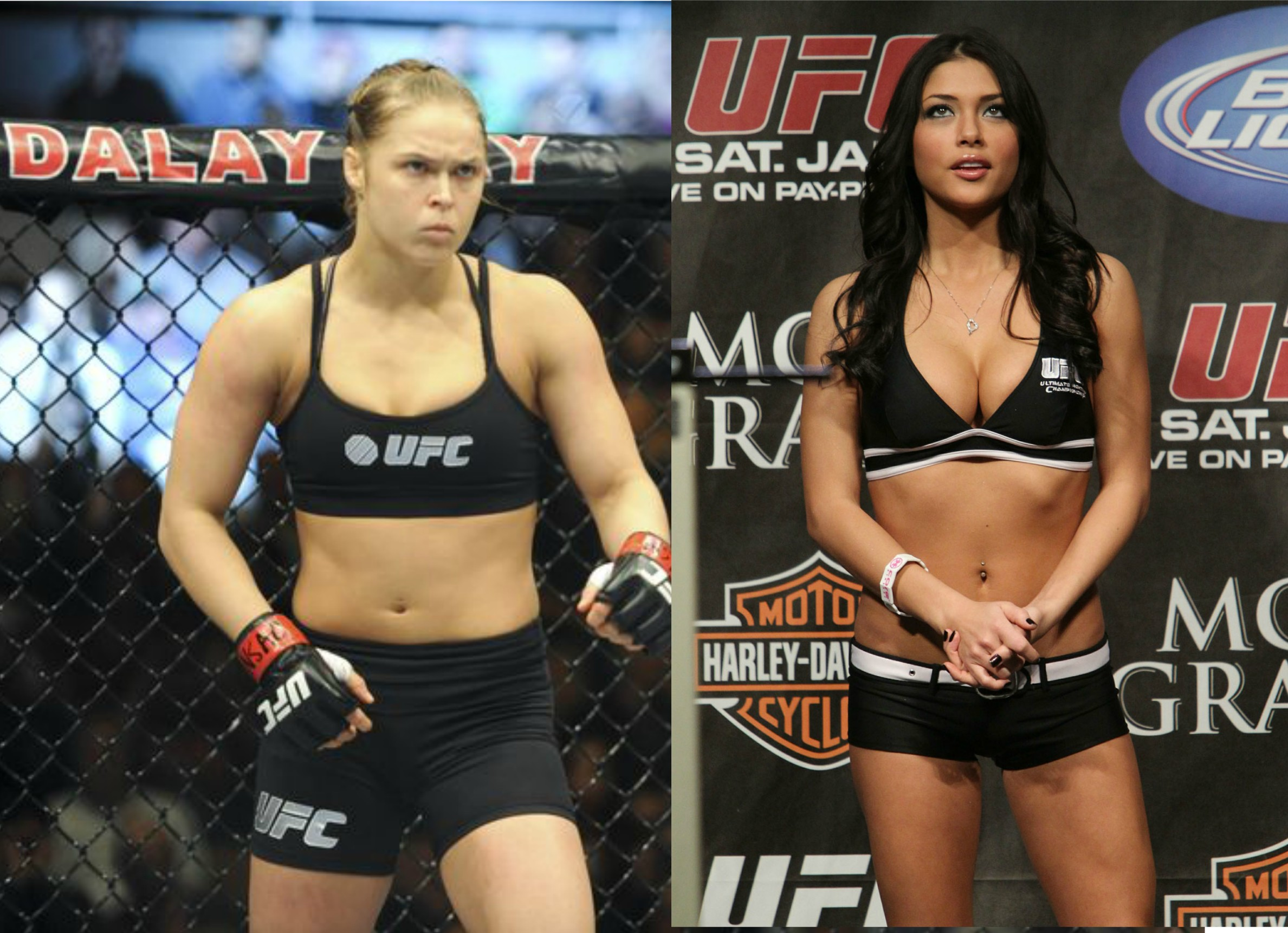 Ronda: 'Fighters Should Get Paid More Than Ring Girls'; Arianny Fires Back