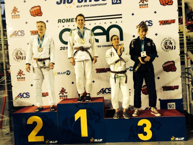 European No Gi Champ Olga Lyashevska on Mixing Judo & BJJ & Growth of BJJ in  Eastern Europe