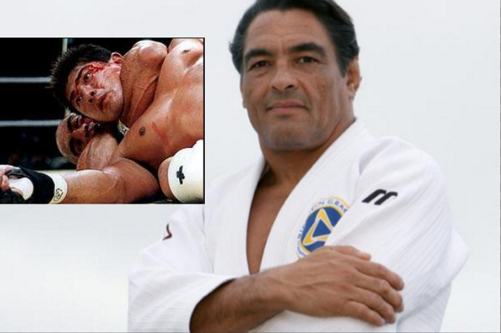 Rickson Gracie: 'MMA Sets a Bad Example to the Youth , Only Attracts People that like Barbarism'