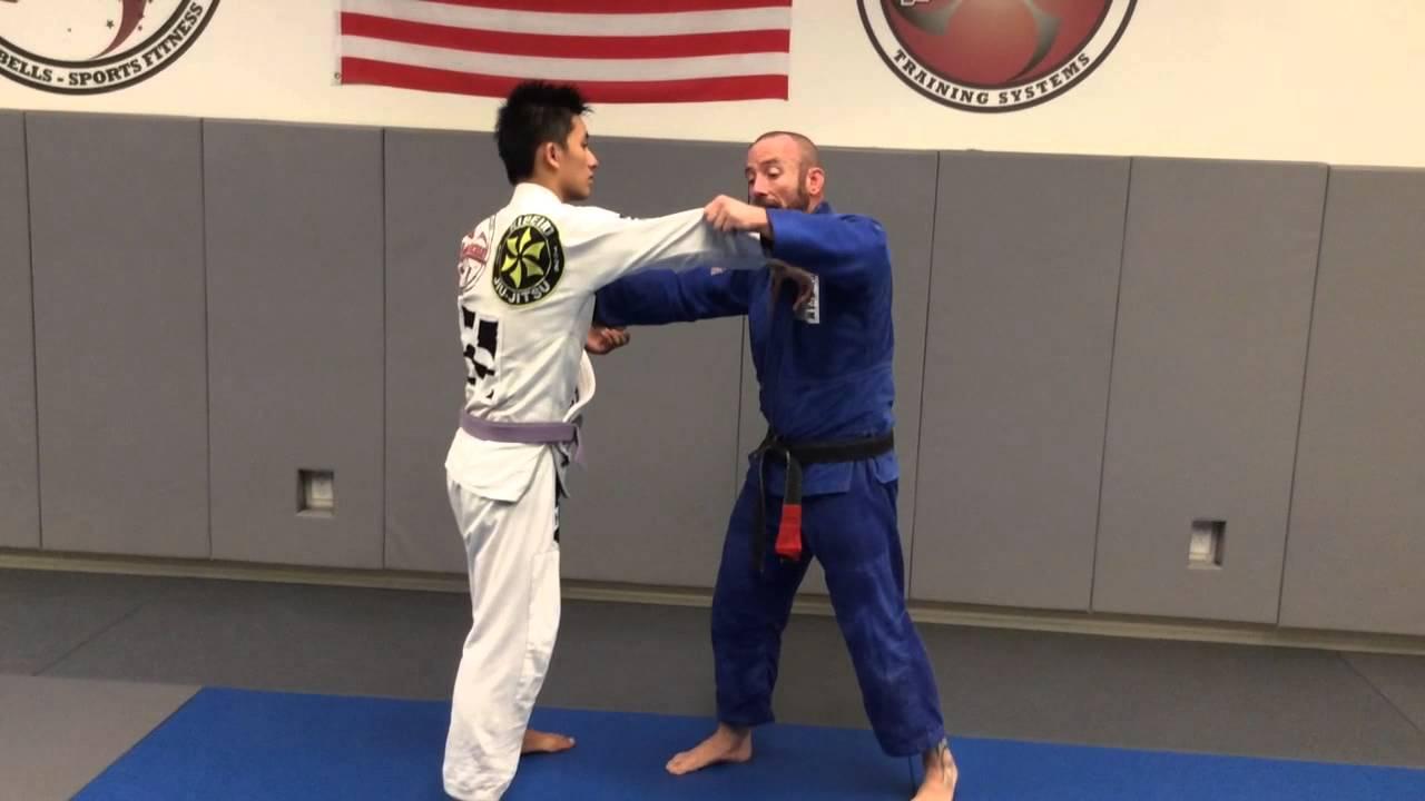 Wrestling Duck Under with BJJ Grips: Te Guruma for Brazilian Jiu-Jitsu