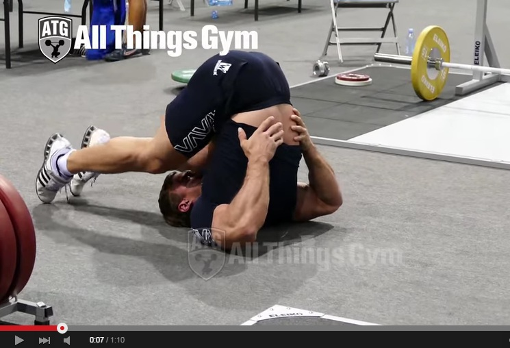 Flexibility Not Affected by Strength Training: World Champ Weightlifter Shows Great Flexibility