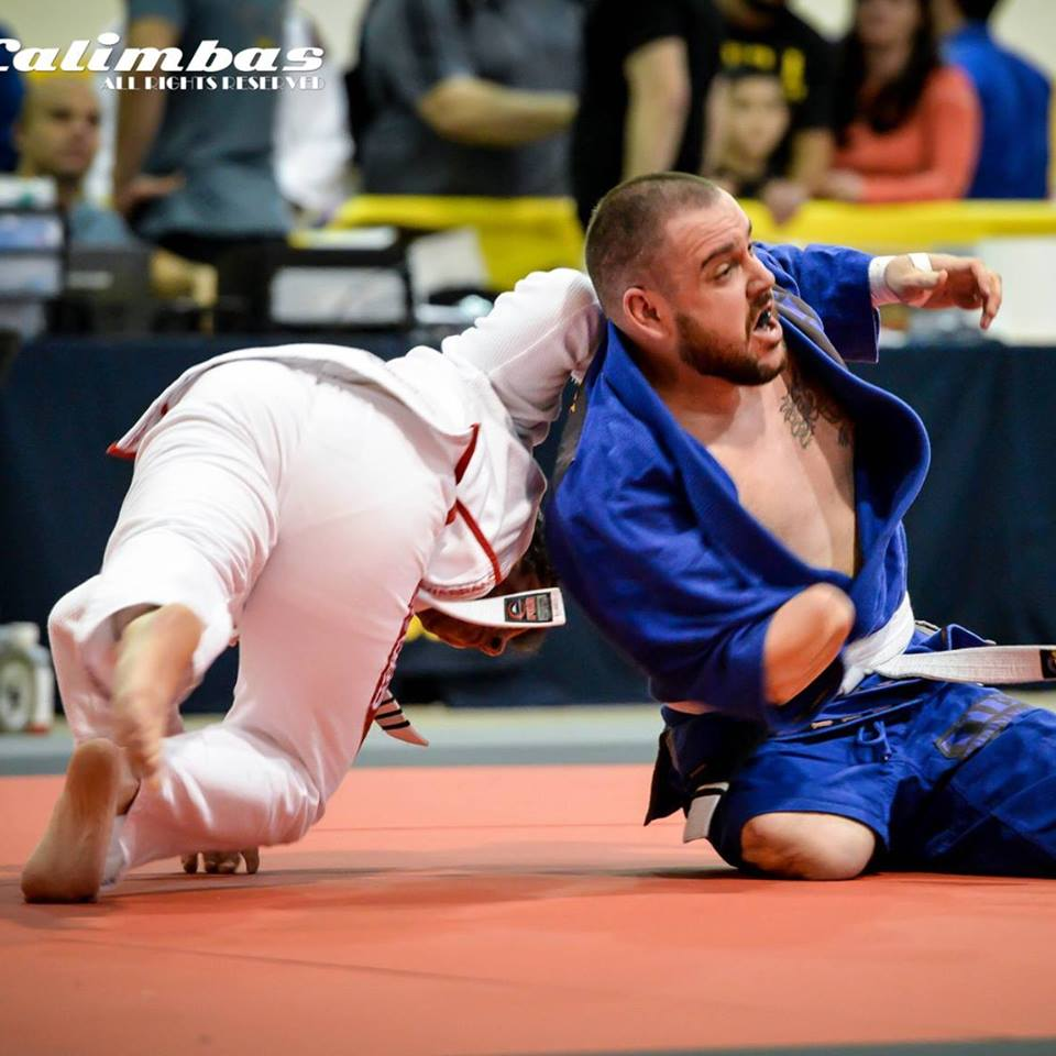 Soldier, Triple Amputee Trains & Competes in BJJ