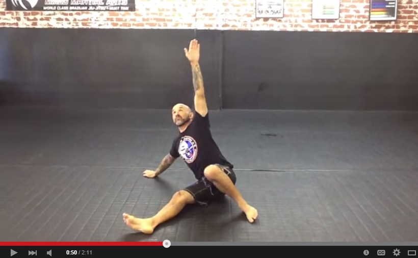 BJJ Technical Stand Up Body Weight Conditioning Workout