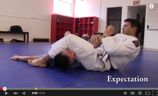 (Expectation vs Reality) Armbar: What Happens When Someone Bites your Leg