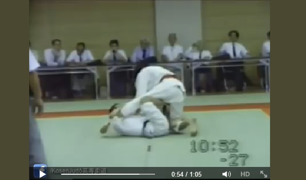 It's All Been Done Before: X Guard in Judo Competition in the 1980's