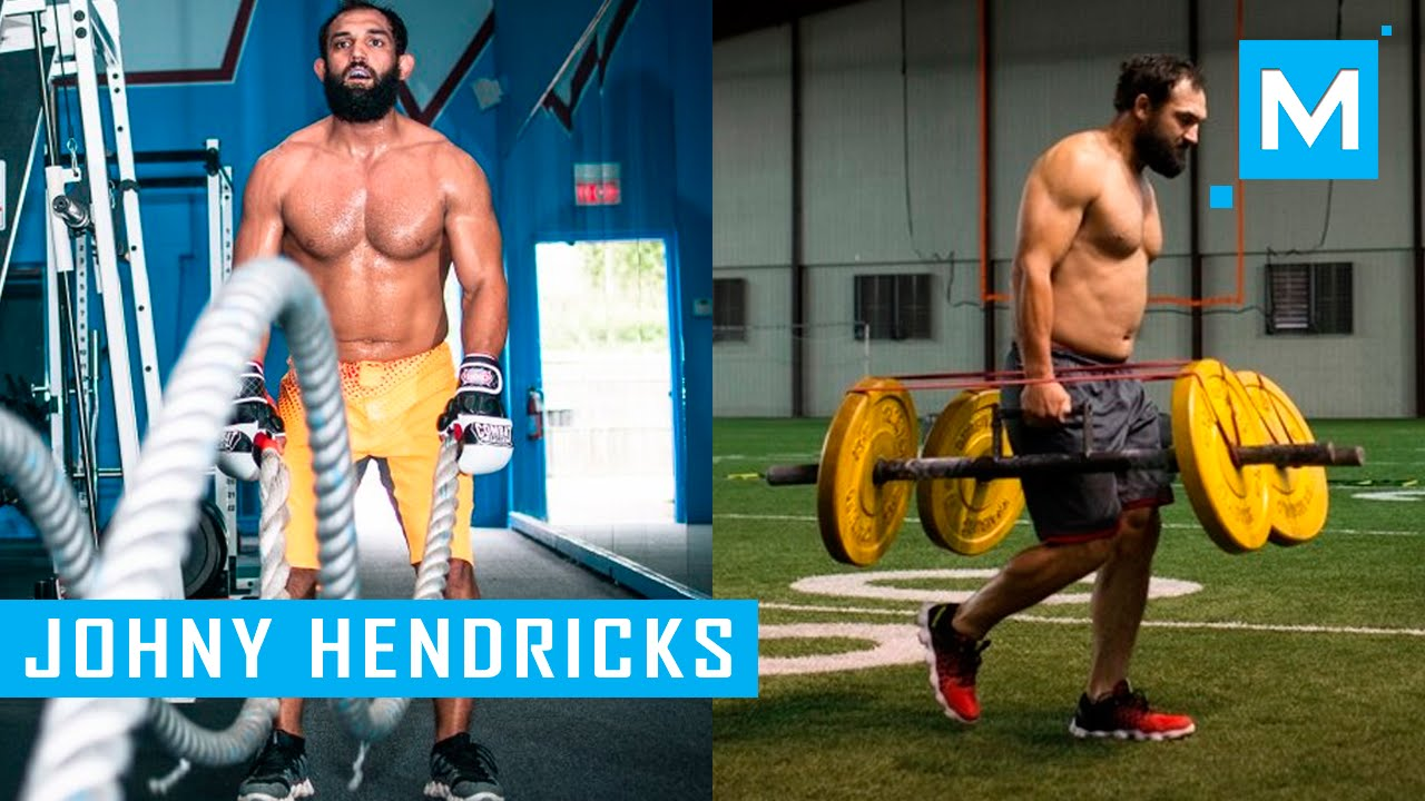The Secret To Johny Hendricks's Power: Heavy Lifting & Grappling In A Gi