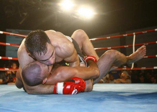 Moshe Kaitz MMA fight