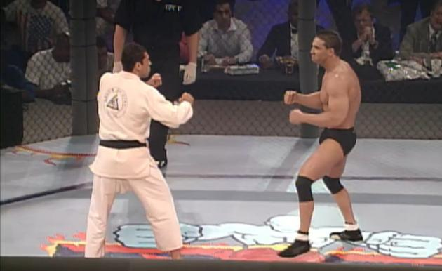 Image result for royce gracie vs ken shamrock ufc 5