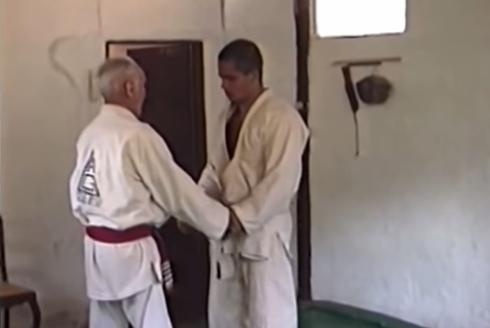 Rare footage of a World Champion's Private Class with Helio Gracie