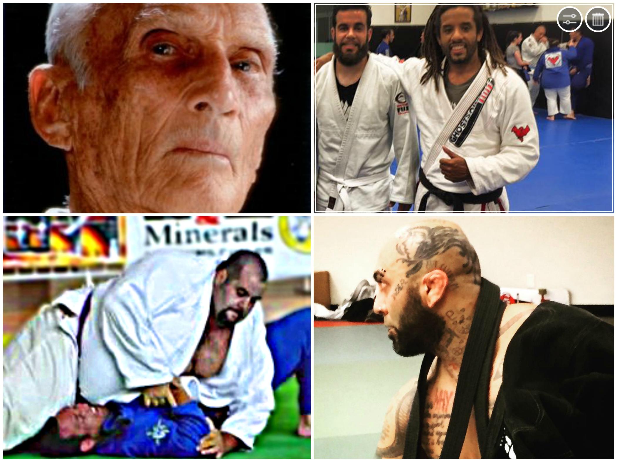 Helio Gracie Black Belt Standards: 'No Dreadlocks, Head Tattoos or being Overweight'