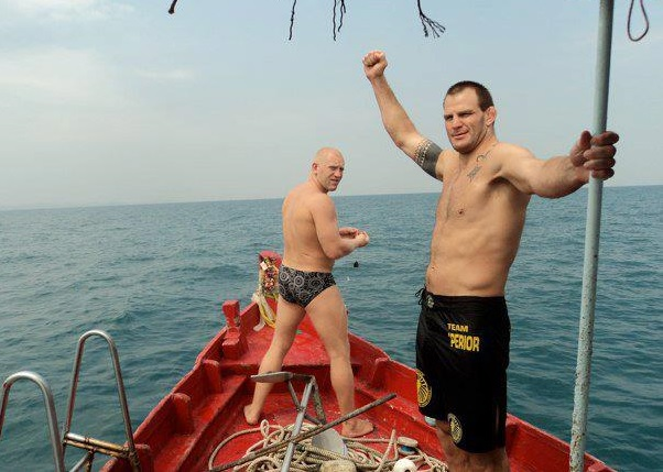 That Time when ADCC Champ Jon Olav & Sergey Kharitonov Entered a BJJ competition in Thailand