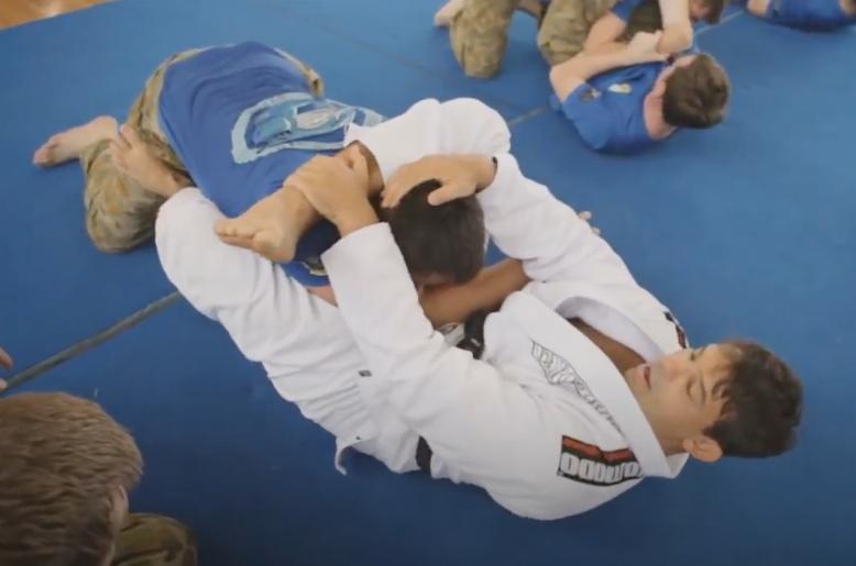 Watch: Brazilian Jiu-Jitsu Training in the Australian Army