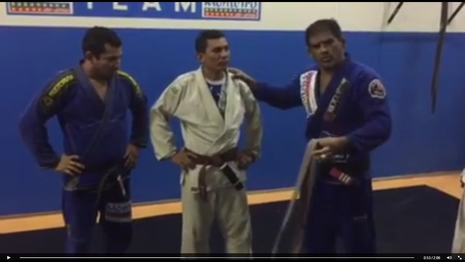 Flashback: When a BJJ Instructor Demoted His Student From Brown to Purple Belt
