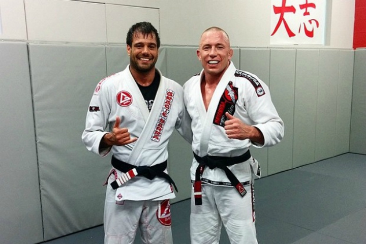 GSP Almost Quit BJJ After Getting Tapped 5 Times in a Roll at Renzo Gracie NYC