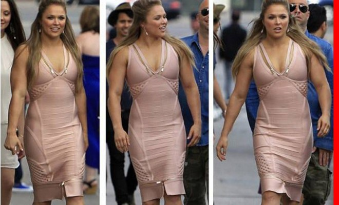 Ronda on Being Ripped: 'I Feel At My Healthiest, Strongest & Most Beautiful'