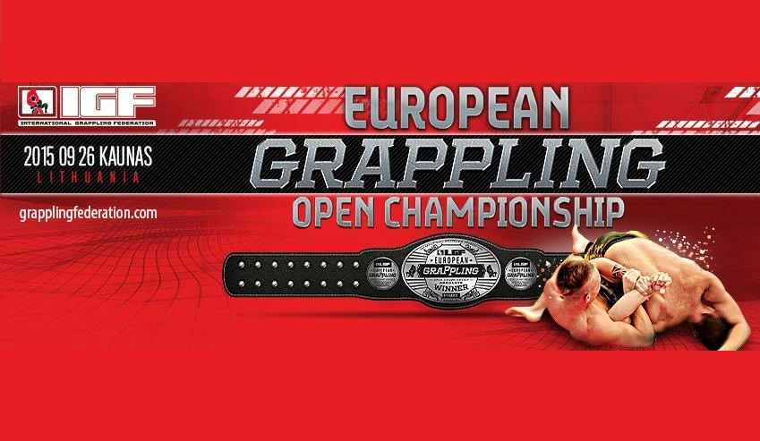 European Grappling NO-GI Open Championship, 26/09, Lithuania