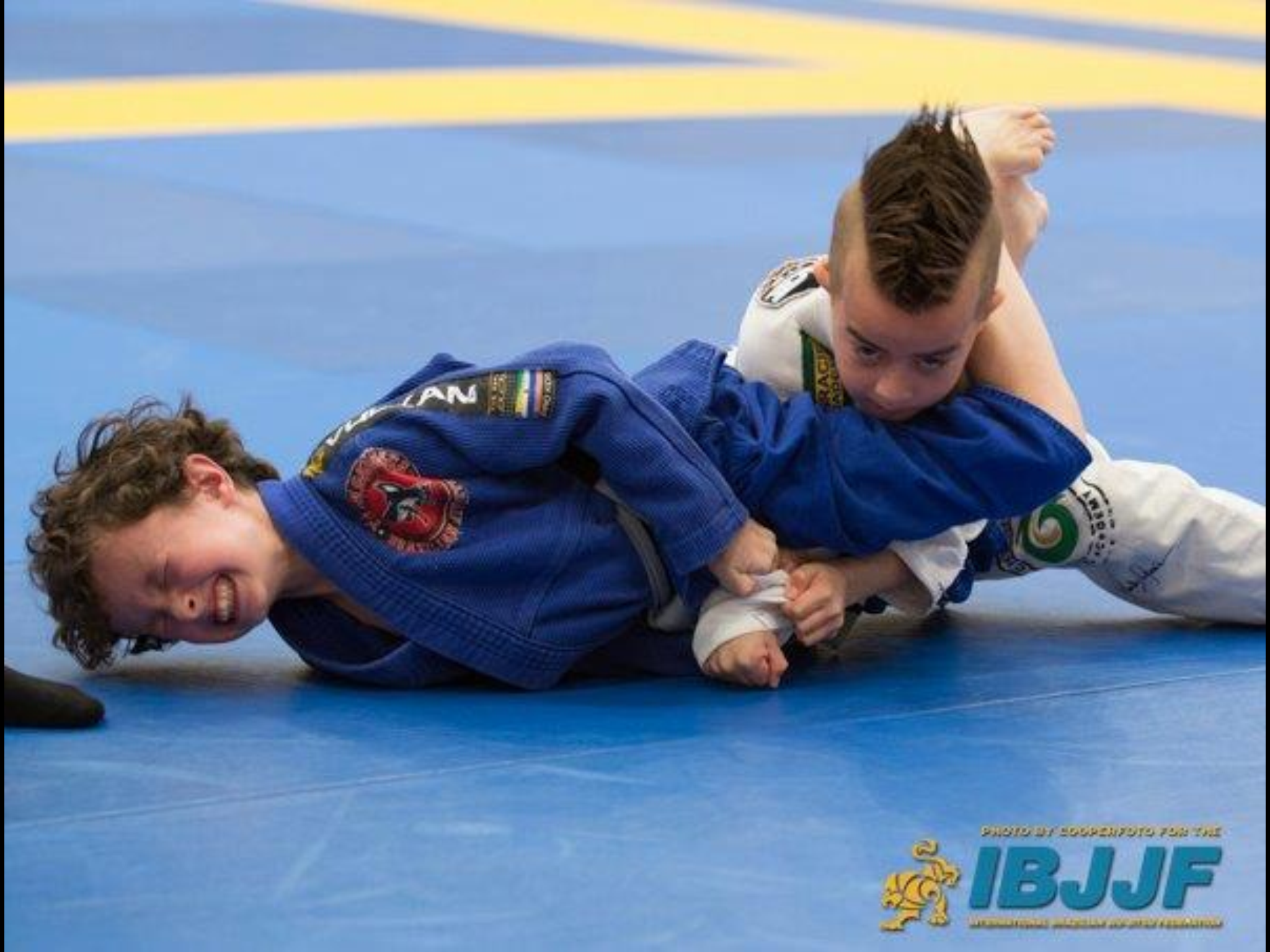 Image result for bjj kid mother triangle choke