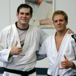 Nic_Gregoriades_right_with_his_teacher_Roger_Gracie