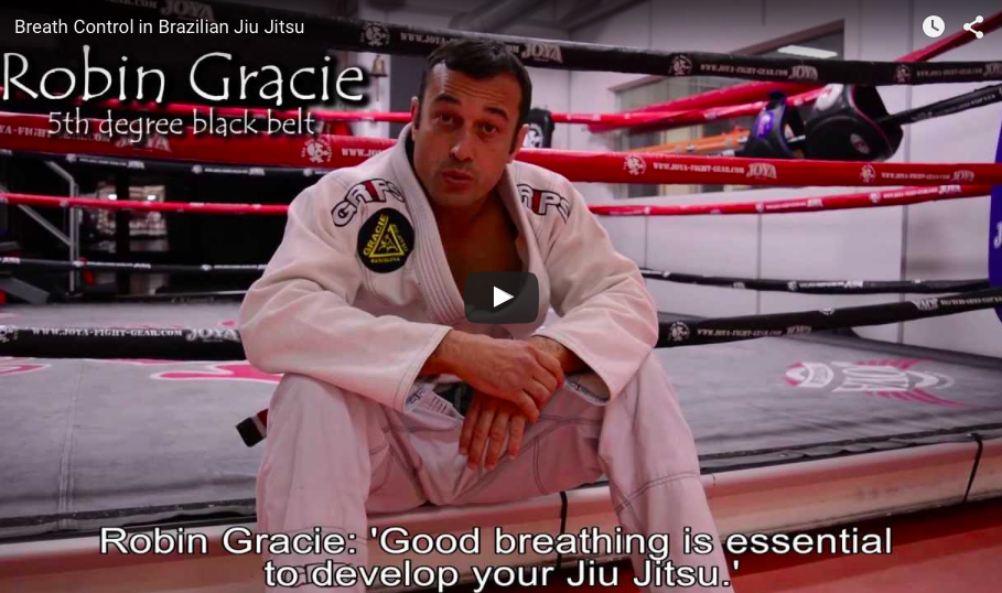 Breath Control in Brazilian Jiu-Jitsu
