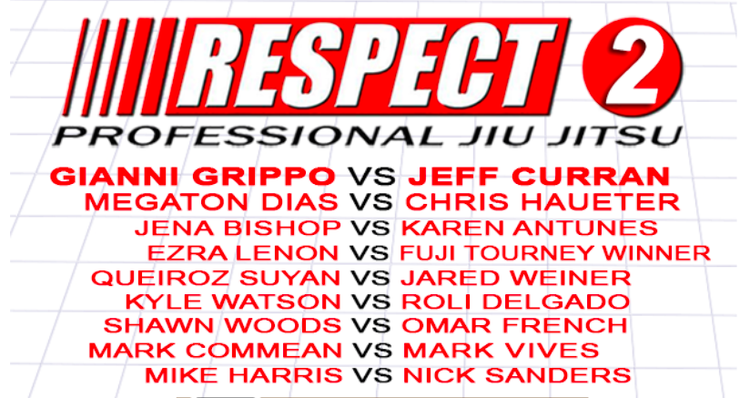 Respect 2 Pro Jiu-Jitsu Promises Great Card feat. Gianni Grippo, Megaton, Chris Haueter…