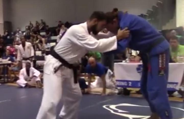 Taekwondo Black Belt Signs Up for Black Belt Division at BJJ Tournament