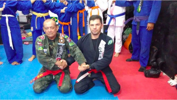 35 yr Old Promoted to Red Belt in BJJ, Angers Brazilian Jiu-Jitsu Community